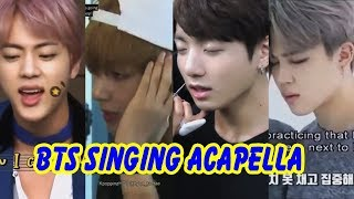 20 Minutes of BTS Singing Acapella (Vocal Team | 방탄소년단)