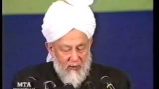 Jalsa Salana Germany 1998 - Concluding Address by Hazrat Mirza Tahir Ahmad (rh)