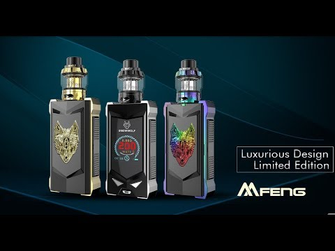 new launching review snowwolf mfeng kit vaporl youtube