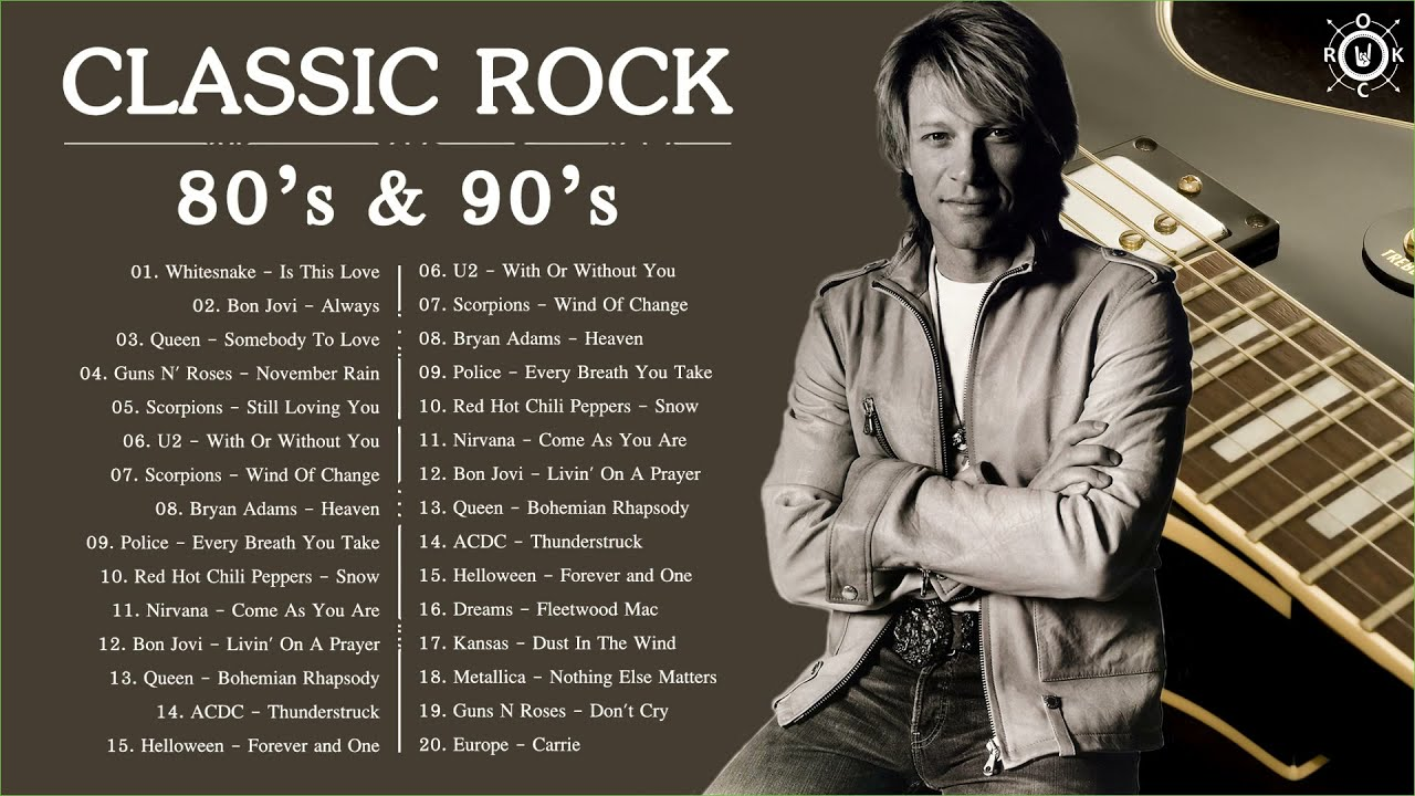 Classic Rock Music 80s 90s | Best Classic Rock Songs Of 80s 90s | Rock Hits Collection