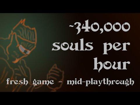 Dark Souls III - Soul Farming: 340,000 souls per hour in the Profaned Capital!