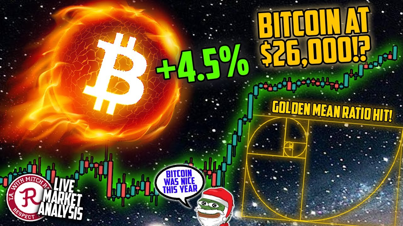 BITCOIN LIVE : BTC AT $27,000+! ALL TIME HIGHS