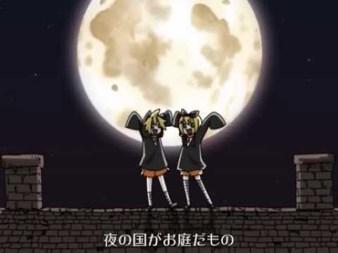 【Kagamine Rin Len】Black Cats of The Eve【VOCALOID-PV】