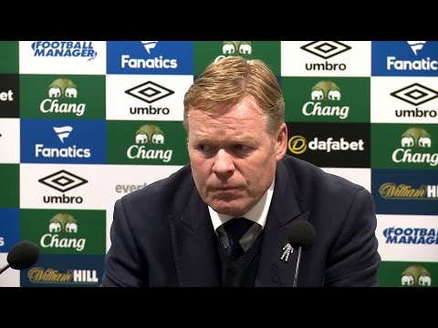 Everton 0-3 Chelsea - Ronald Koeman Full Post Match Press Conference