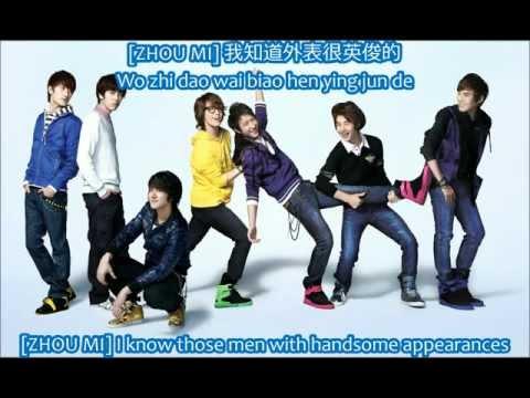 Клип Super Junior M - 動情