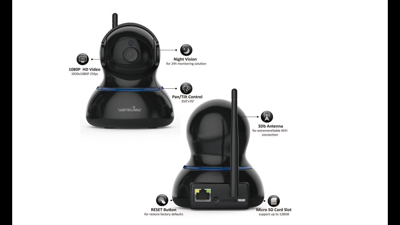 Wansview PTZ Camera Q3S