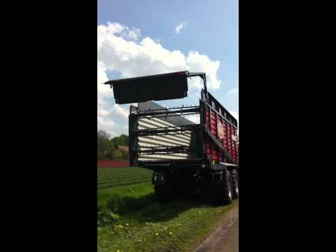 Vicon Rotex 803 combi wagen door John Breider geleverd aan HS Agri te Zuidlaarderveen