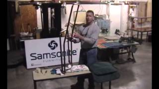 Samsonite Steel Frame Chaise Lounge Sling Installation