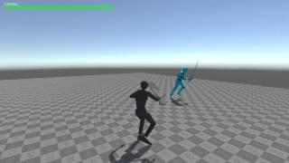 La création d'une 3ème Personne du Système de Combat N ° 5 - Première IA des Ennemis