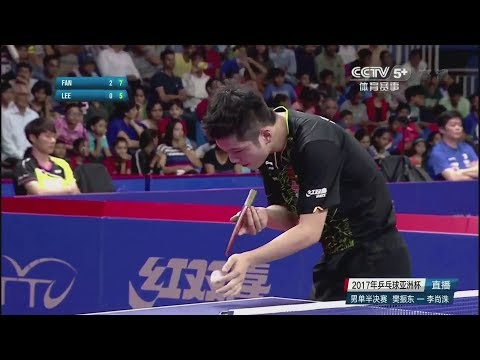 2017 Asian Cup (MS-SF) FAN Zhendong Vs LEE Sangsu [Full Match/Chinese|HD1080p]