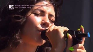 Marina & The Diamonds - Live @ V Festival 22 / 08 / 2015 1080i HDTV