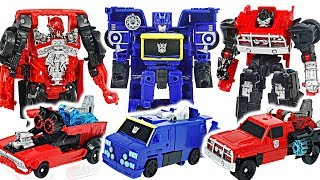 Transformers movie Bumblebee, Ironhide VS Soundwave, Shatter! #DuDuPopTOY