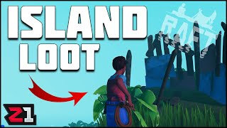 SHARK Attack ! First Island Loot and MORE! Raft Episode 2 | Z1 Gaming