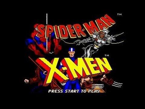 Spider - Man and X-Men Arcade's Revenge (Sega)