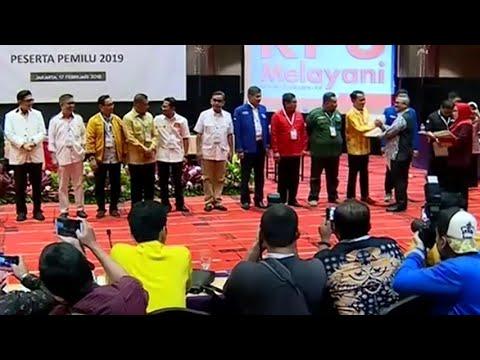 Empat Parpol Baru Lolos jadi Peserta Pemilu 2019