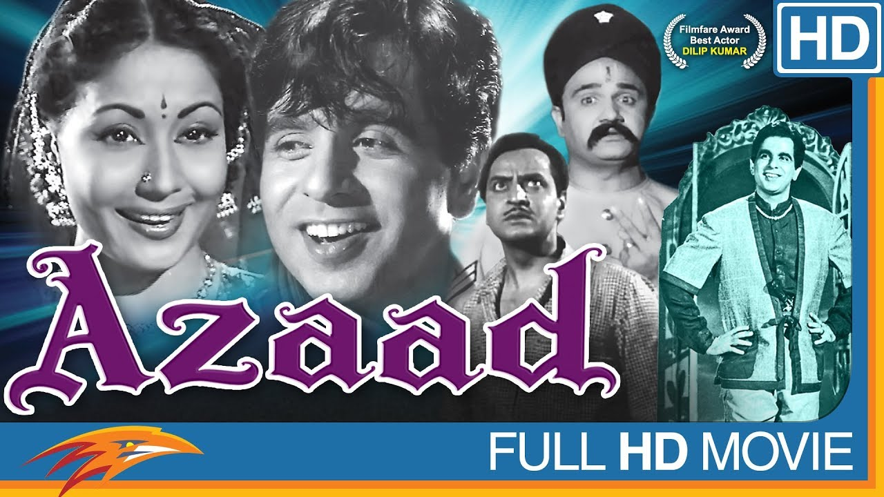 Azaad Hindi Classical Full Movie | Dilip Kumar, Meena Kumari, Pran || Bollywood Old Full Movies