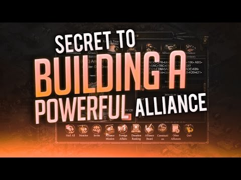 SECRETS TO BEING A SUCCESSFUL ALLIANCE (CLASH OF KINGS TIPS AND TRICKS)