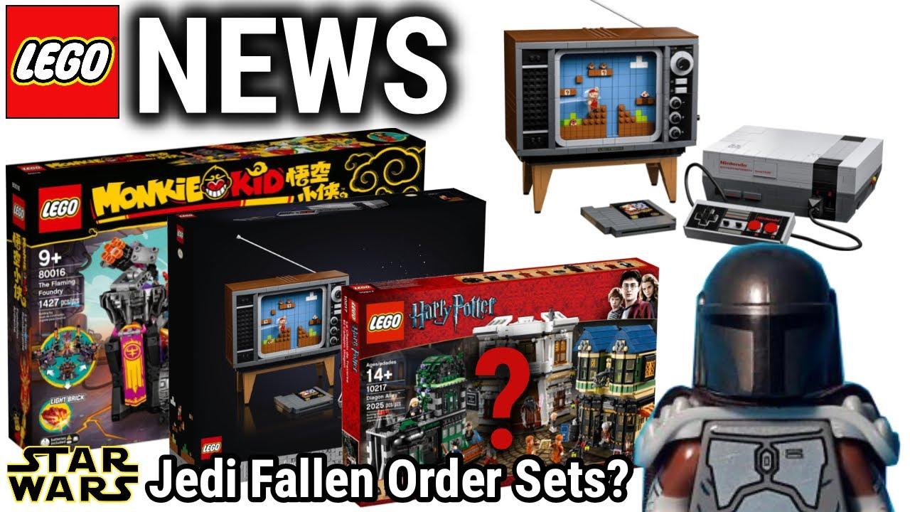 Traum für LEGO Super Mario Fans.. (NES!)   Star Wars Mandalorian &Jedi Fallen Order Sets?!   NEWS