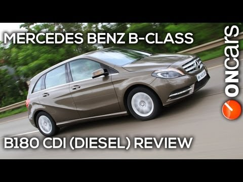 Mercedes Benz B-class (Diesel) - Review by OnCars India