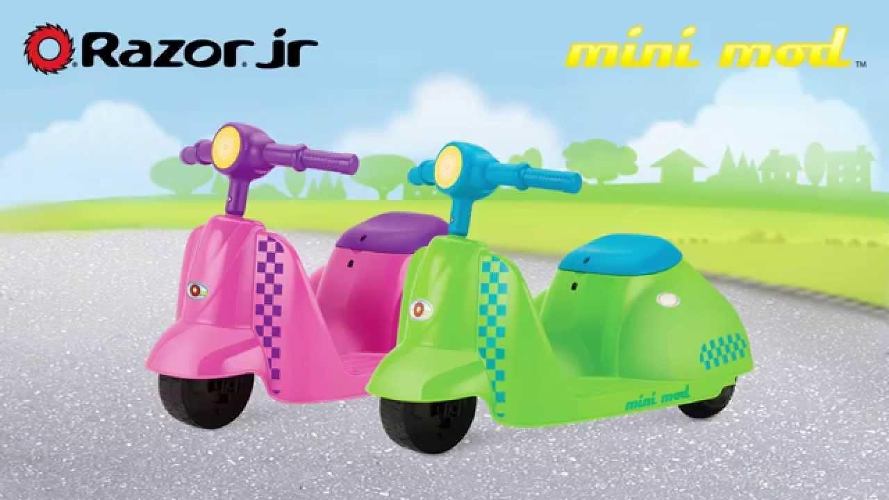 Детский электроскутер Razor Mini Mod