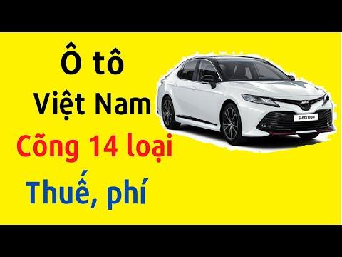 Ô tô Việt Nam cõng 14 loại thuế, phí