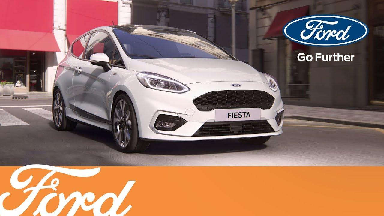 Den helt nye Ford Fiesta - ST-Line | Ford Danmark - YouTube