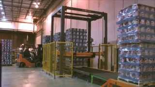 Phoenix PRRA-2100 - Rotary Ring Stretch Wrapper Double Stacked Split Wrapping