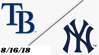 Tampa Bay Rays vs New York Yankees | Full Game Highlights