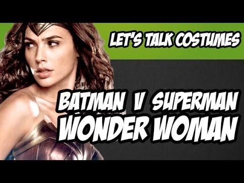 Wonder Woman Costume Details from Batman V Superman