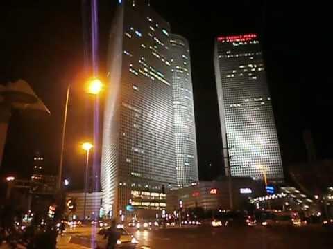 TEL AVIV at night,AZRIELI