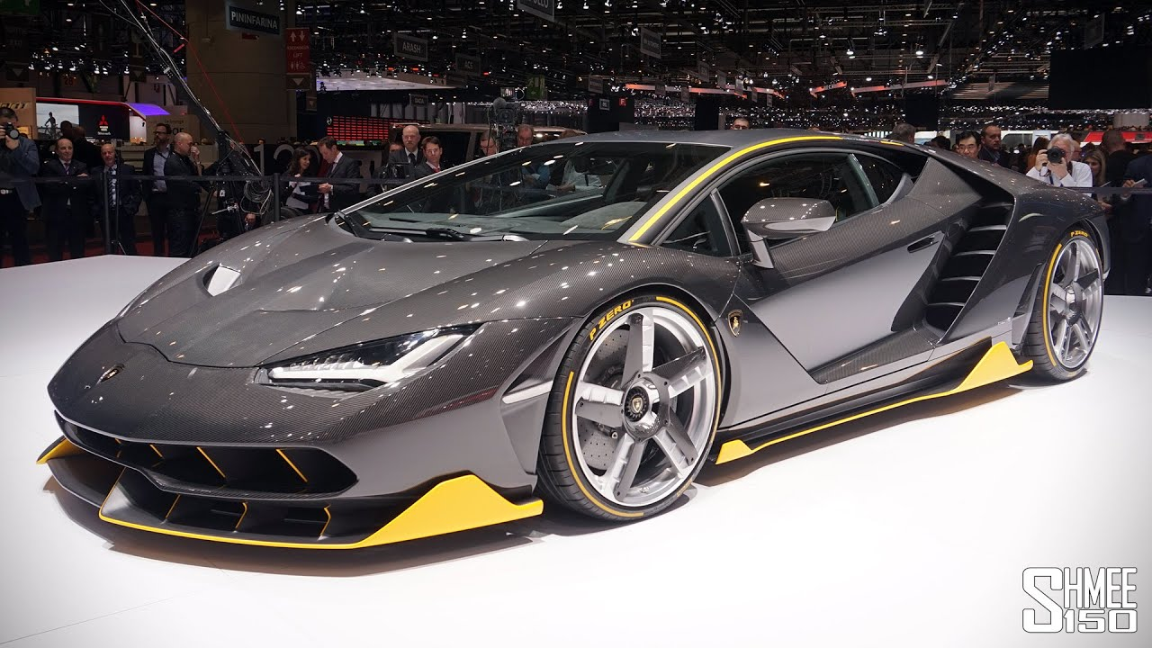 First Look Lamborghini Centenario Lp770 4 Geneva 2016 Youtube