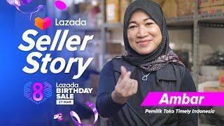 Lazada Seller Story - Ambarwati Hadi