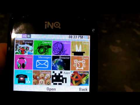 INQ Chat 3G - Software Hands-on