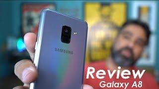 Review Galaxy A8 2018 - A Samsung acertou nesse intermediário?  Analise Brasil
