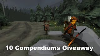 10 TI5 Compendiums Giveaway. 400k subscribers Woohoo!