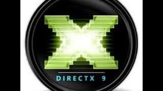 Directx nasıl kurulur(SESLİ TÜRKÇE)