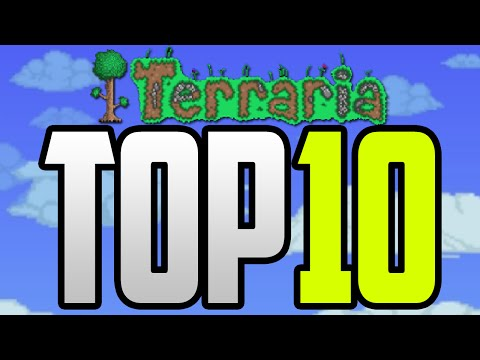 Top 10 Lucky / Unlucky Moments In Terraria - Terraria Top 10 World Generation Moments! [1.3 PC]