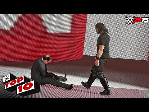 WWE 2K19 - Raw Top 10 Moments   March 25, 2019