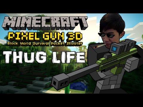 Sakura-chan Thug Life trong Minecraft Pixel Gun