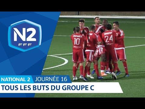 16ème journée - National C - Tous les buts
