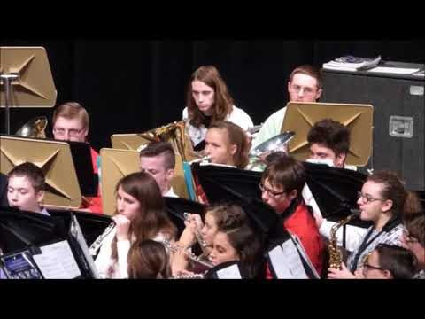 Another great Spring Band Concert at Maconaquah High School 2018