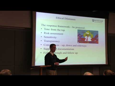 Ethics Week: Notre Dame International: Advancing the University's Mission Around the Globe