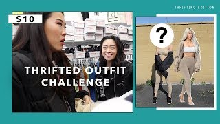Under $10 Thrifted Outfit Swap Challenge