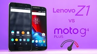 Moto G4 Plus vs Lenovo ZUK Z1 Speedtest Comparison!