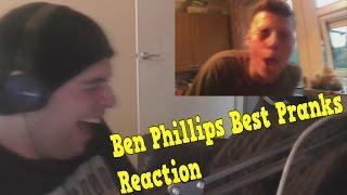 Ben Phillips Best Pranks Reaction