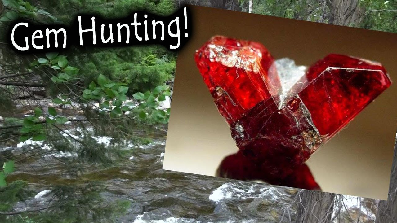 In search of a gemstone! Gem hunting for Rhodonite