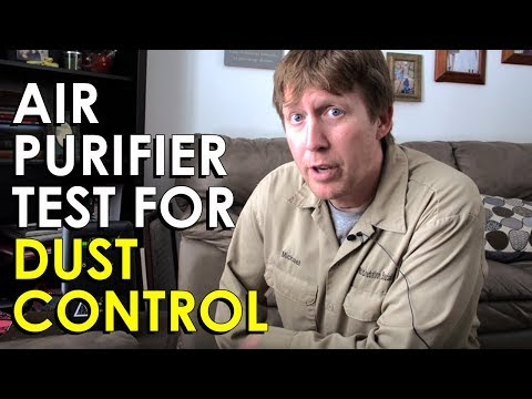 Air Purifier Test | Dust Mite Control DIY | How to Control Dust Mites