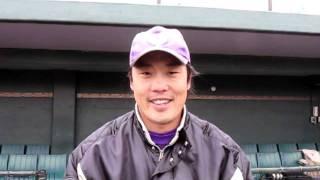 ヤマハ野球部佐藤選手の2012年の抱負.