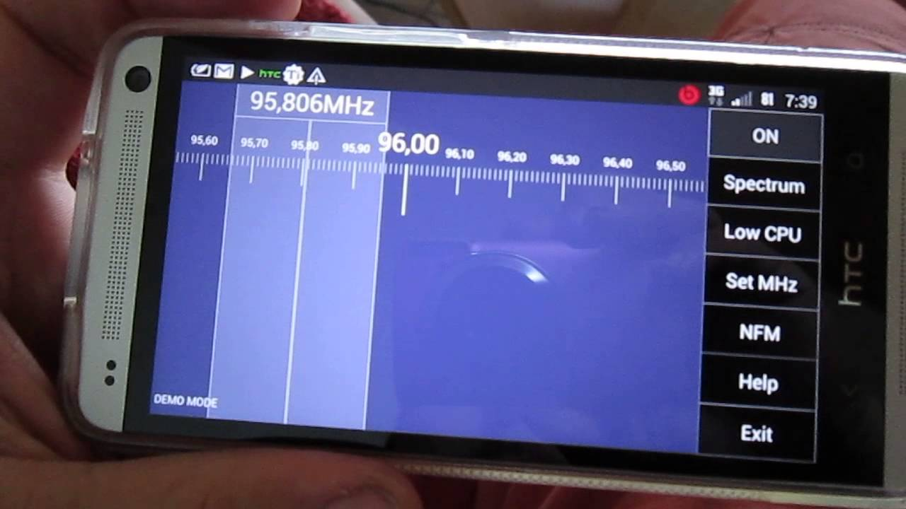 HTC One - TerraTec T+ - DVB-T. DAB+ via OTG - YouTube