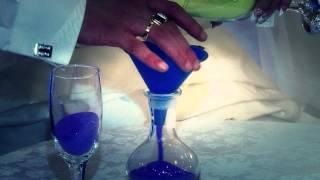 Цветной песок на свадьбе